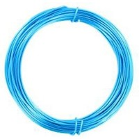 Coloured Copper Wire Electric Blue 0.3mm 15 metre