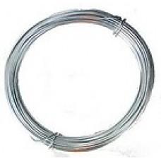 Coloured Copper Wire Silver 0.3mm 15 metre