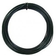 Coloured Copper Wire Black 0.6mm 10 Metre