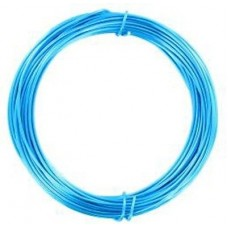 Coloured Copper Wire Electric Blue 0.6mm10 Metre