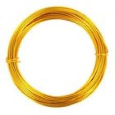 Coloured Copper Wire Gold 0.6mm 10 Metre