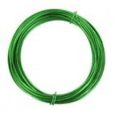 Coloured Copper Wire Green 0.6mm 10 Metre