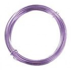 Coloured Copper Wire Lilac 0.6mm 10 Metre