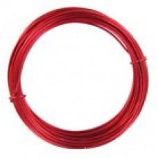Coloured Copper Wire Red 0.6mm 10 Metre