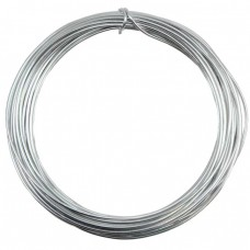 Silver Plated Wire 0.6mm 10 Metre