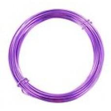 Aluminium Wire Purple 2.0mm 2 Metre