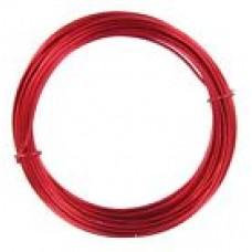 Aluminium Wire Red 2.0mm 2 Metre