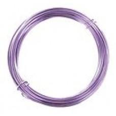 Aluminium Wire Violet 2.0mm 2 Metre
