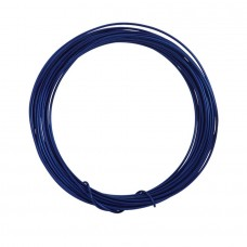 Coloured Copper Wire Navy 0.6mm 10 Metre