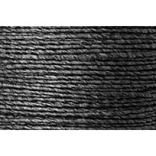 PAPER COVERED WIRE BLACK 2MM 1.5 METRES