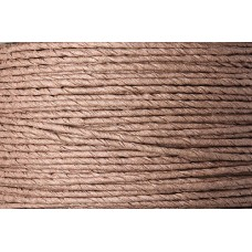 PAPER COVERED WIRE BROWN 2MM 1.5 METRES
