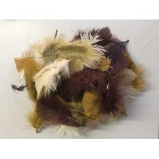 Craft Feathers Natural Mix 5 Gram