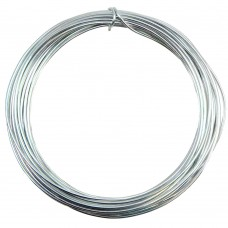 Silver Plated Wire 0.8mm 6 Metre